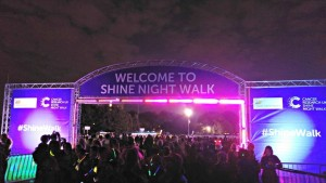 Shine Night Walk Half Marathon Recap