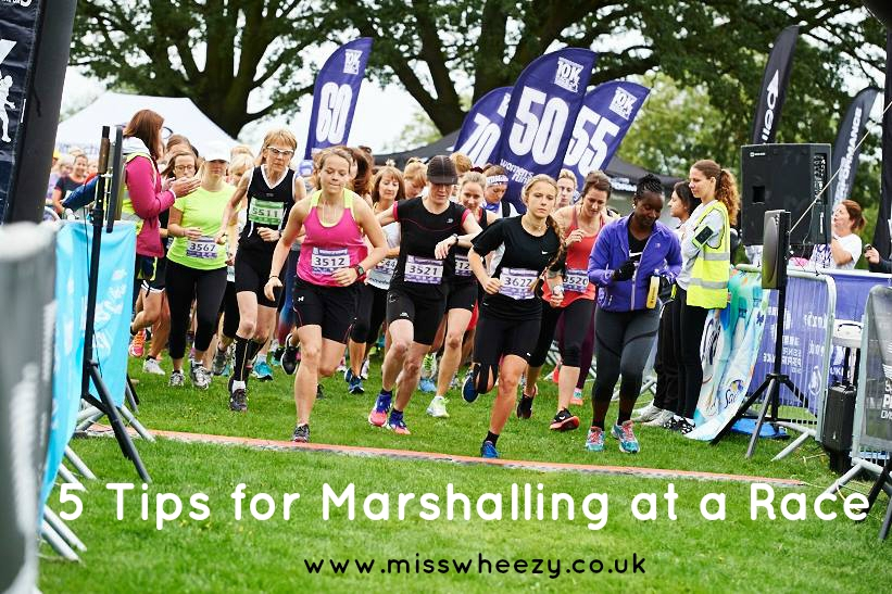 5 Top Tips for Marshalling at a Race {Women's Running 10k}