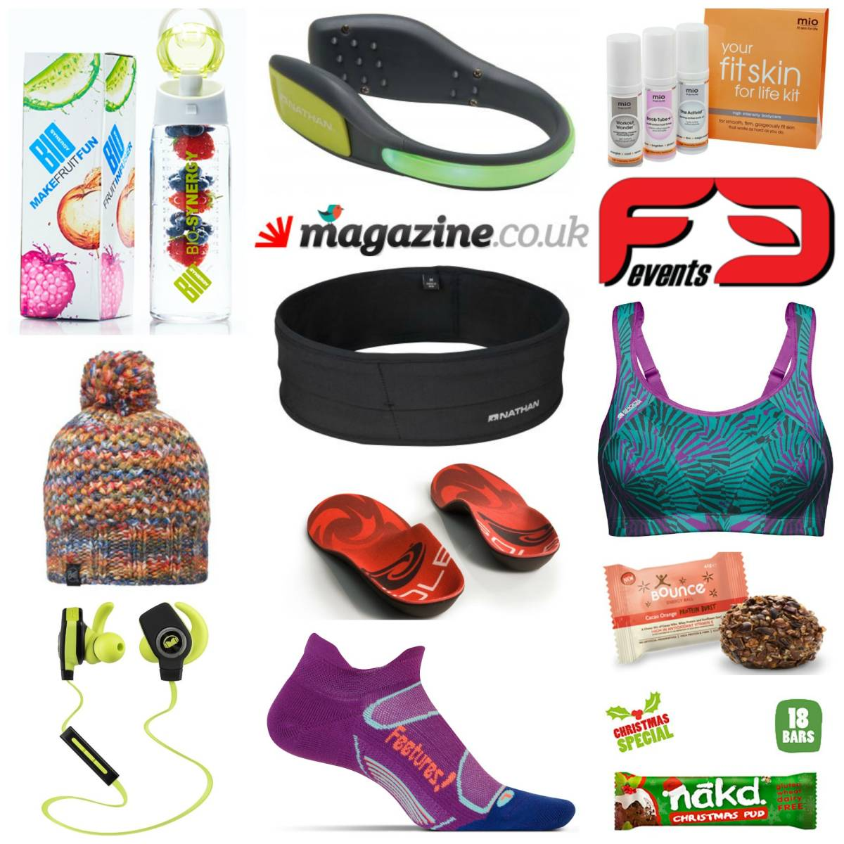 12 Days of Fitness Christmas Gift Guide