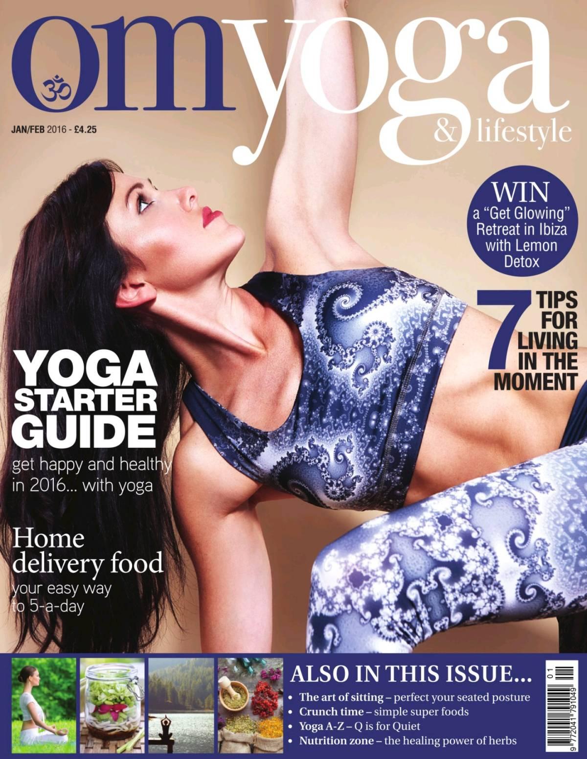 Om Yoga Magazine January