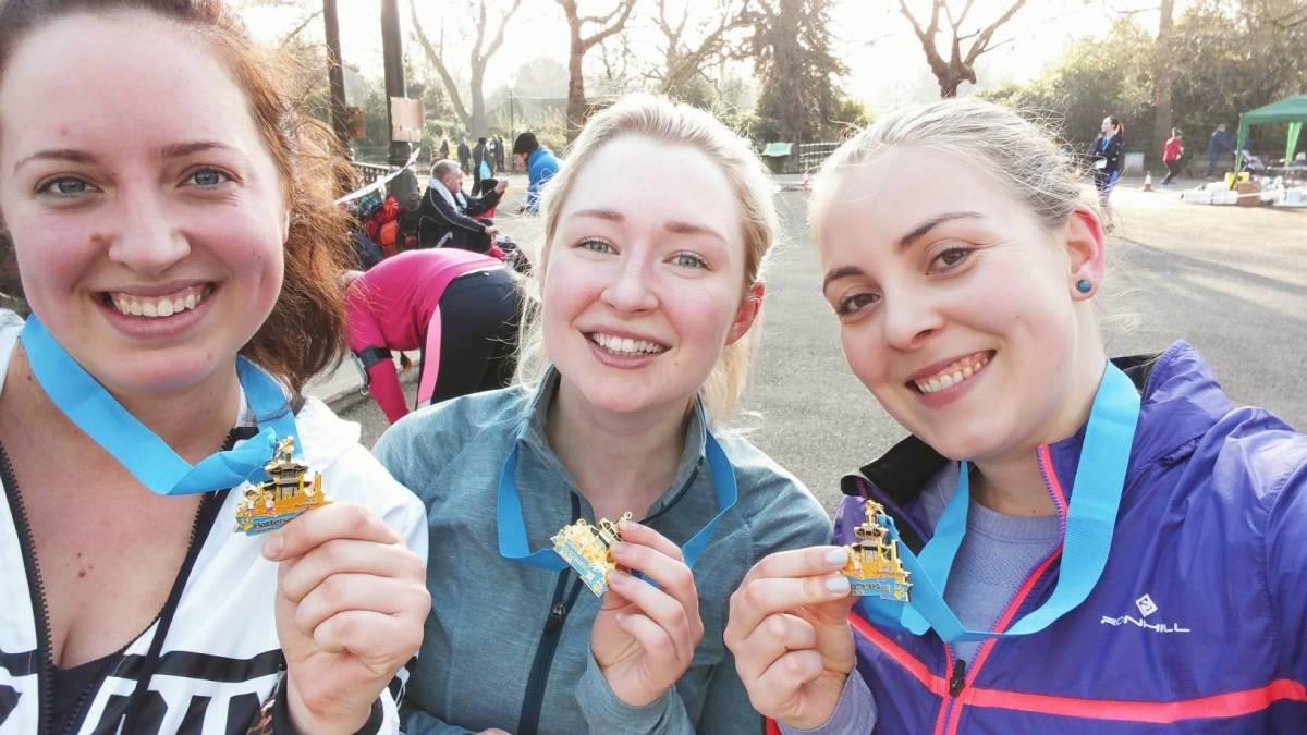Battersea Park 5k medals