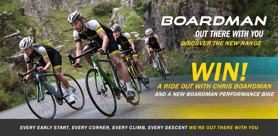 Win a Chris Boardman bike