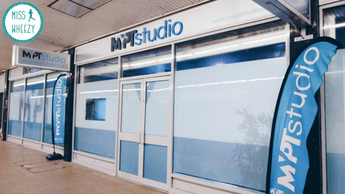 Training at MyPT Studio
