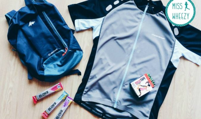 Cycling kit for London to Brighton