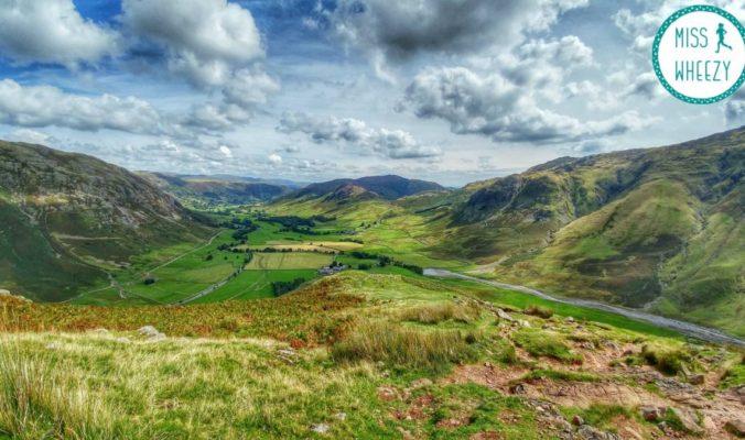 Hiking Lake District - title