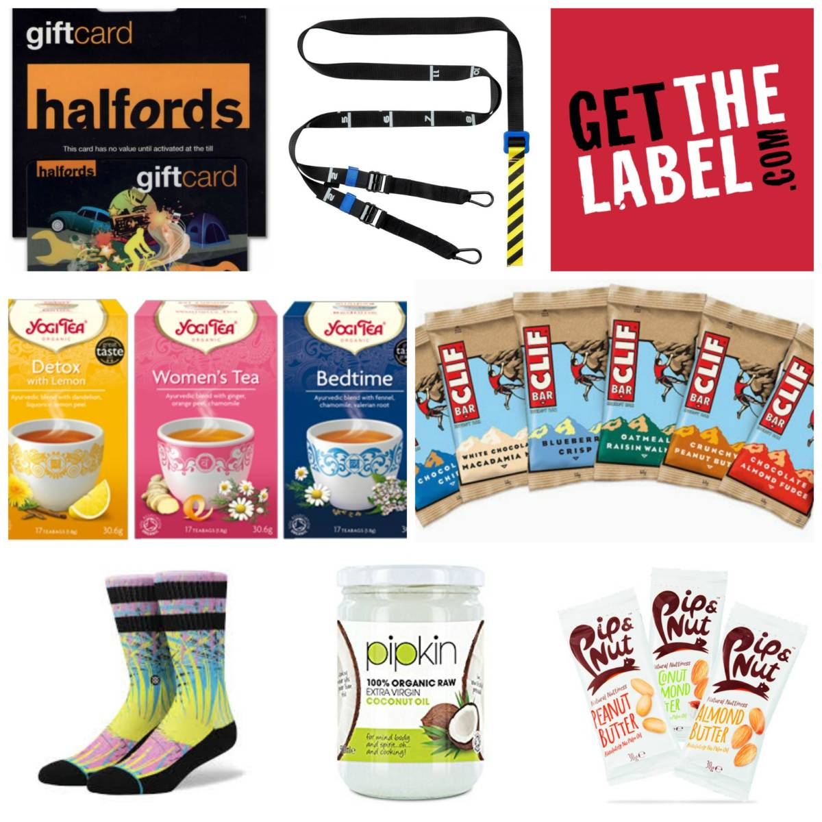 Christmas Gift Guide fitness and food