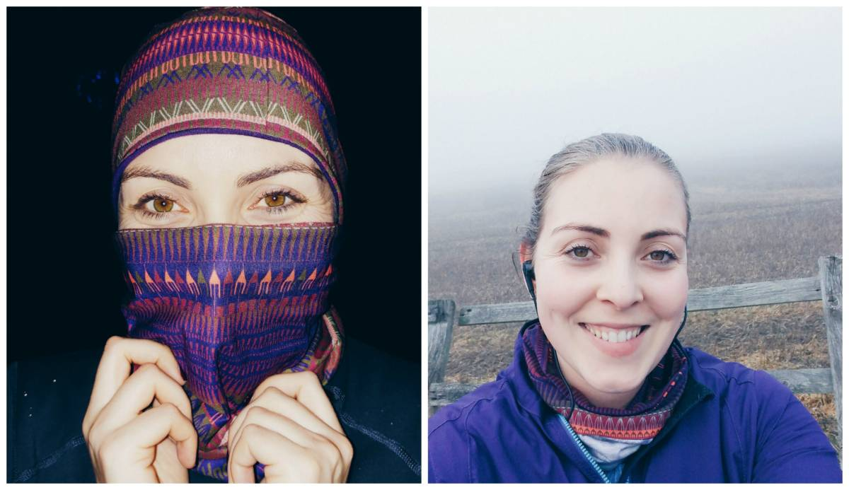 Buff headwear - winter running