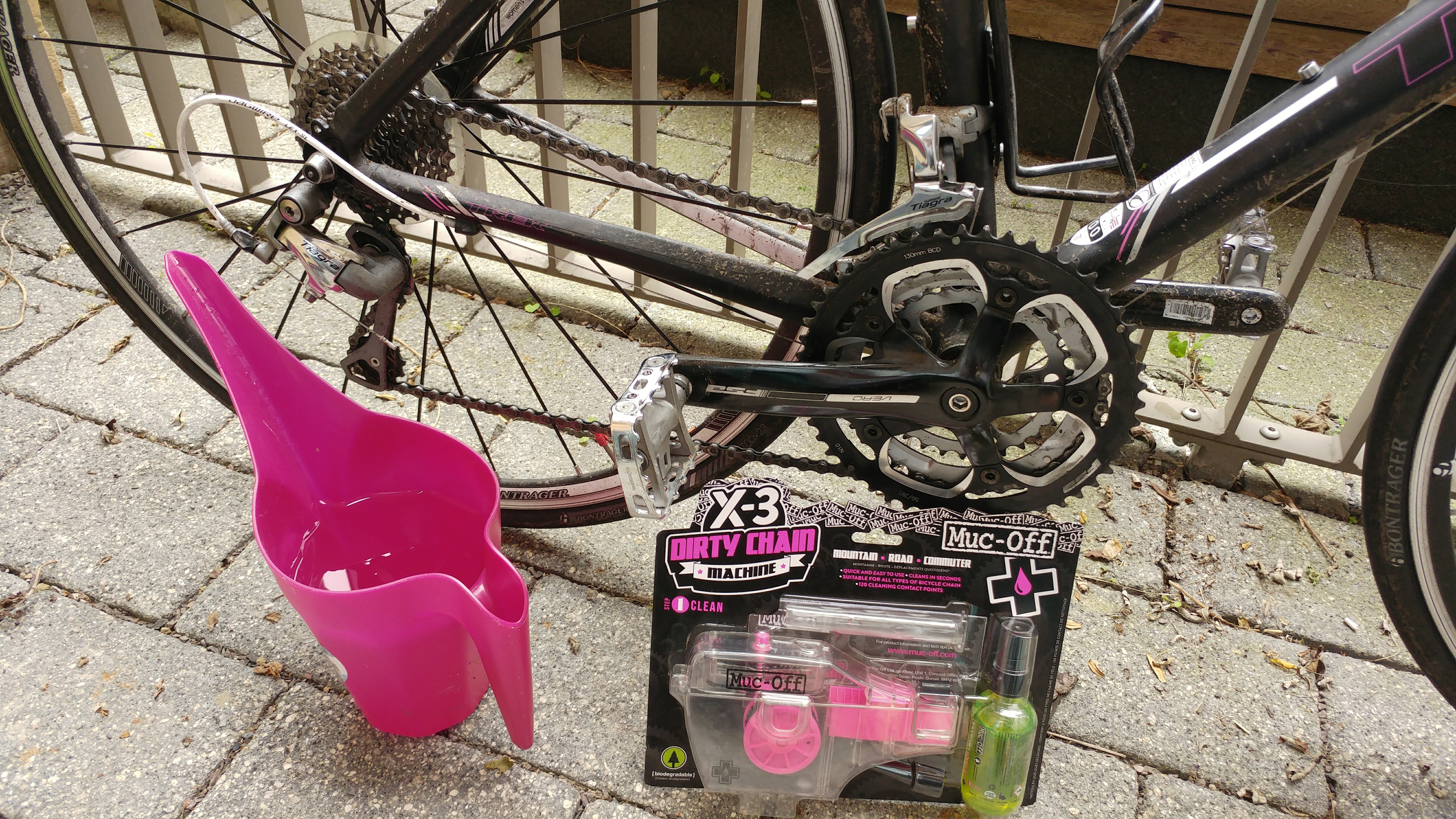 Bike spring cleaning with Muc Off