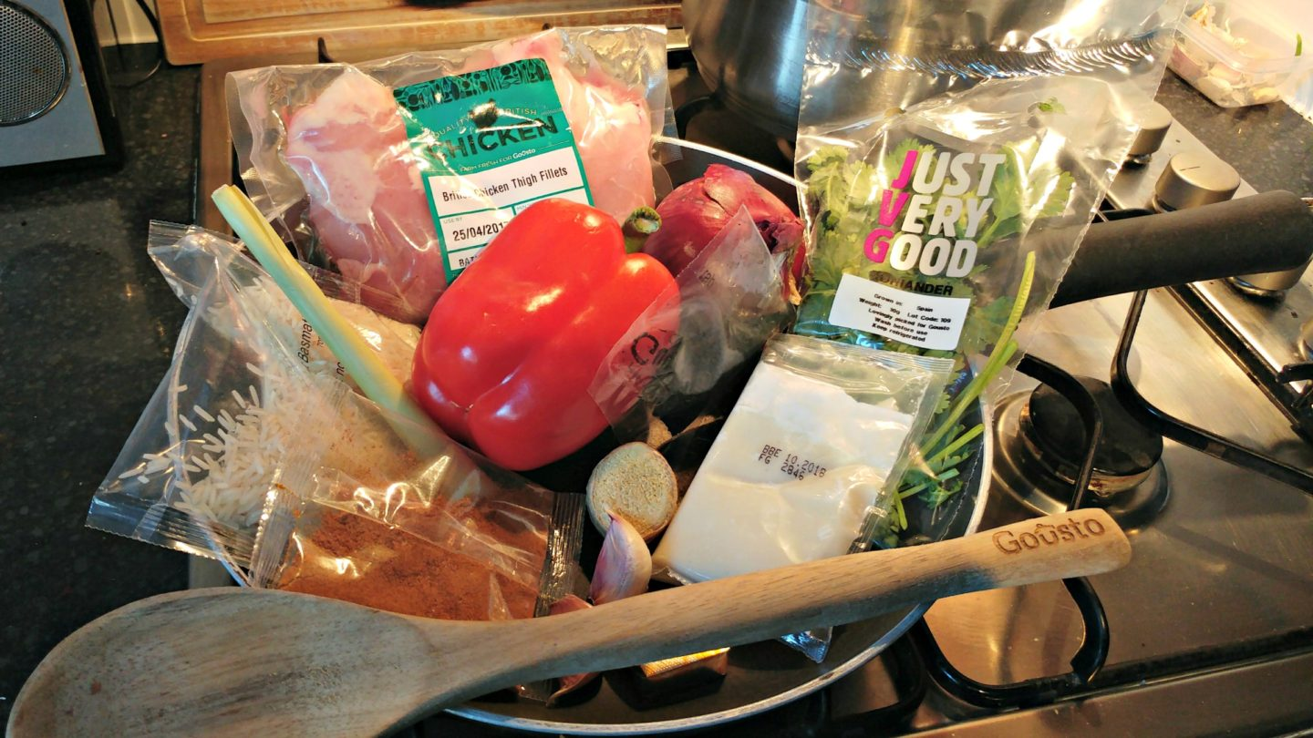 Gousto Recipe Box