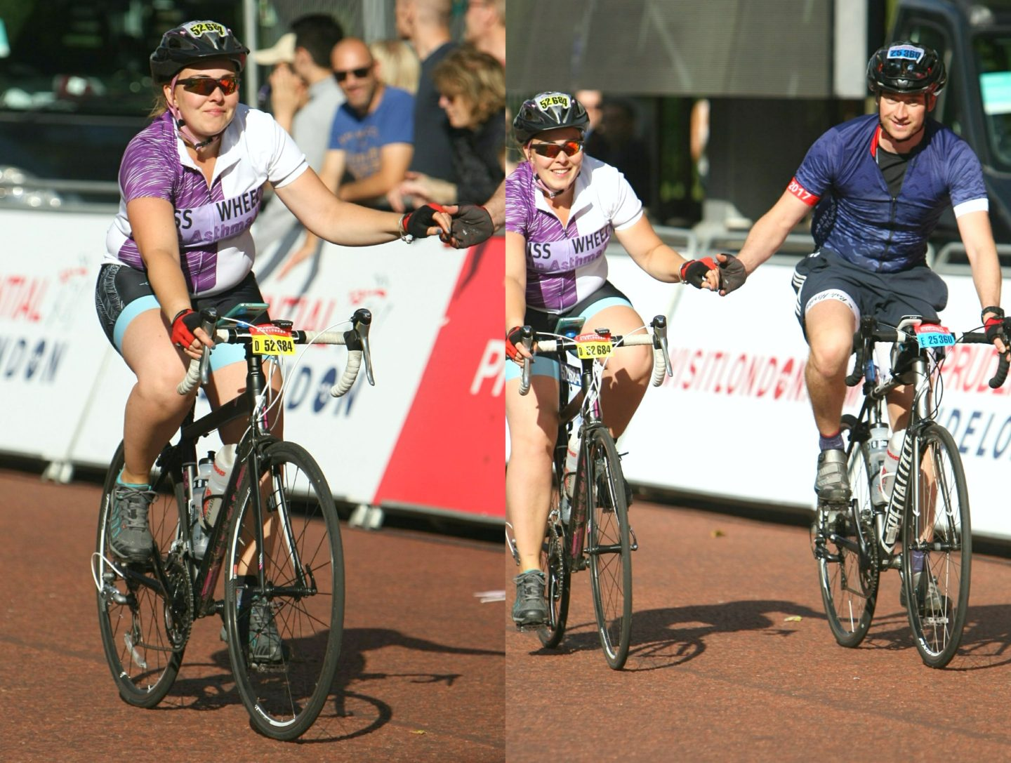 RideLondon finish