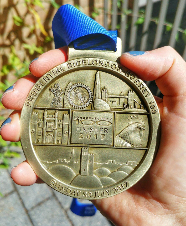 RideLondon medal