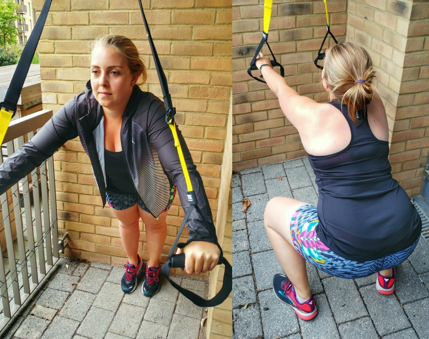 TRX training for a Tough Mudder