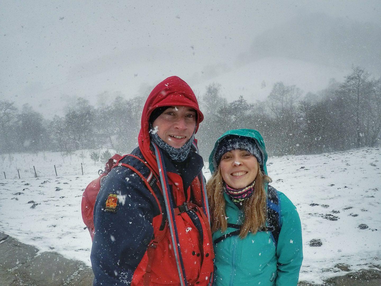 Snowy Adventures in the Peak District