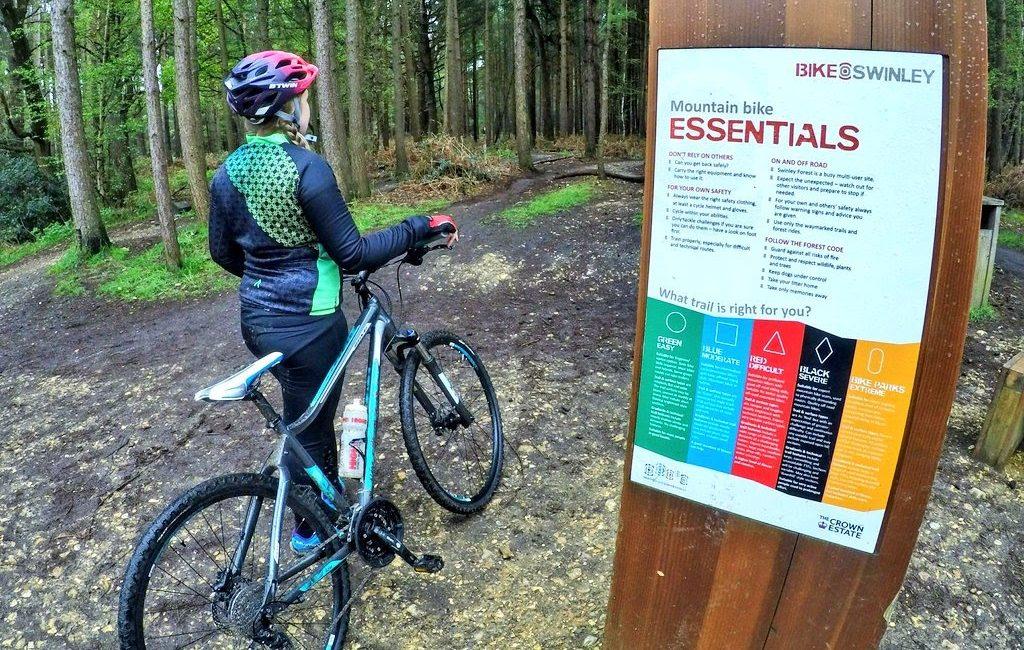 Mountain Biking at Swinley Forest