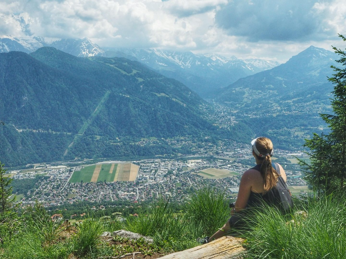 Hiking in the French Alps with Quechua