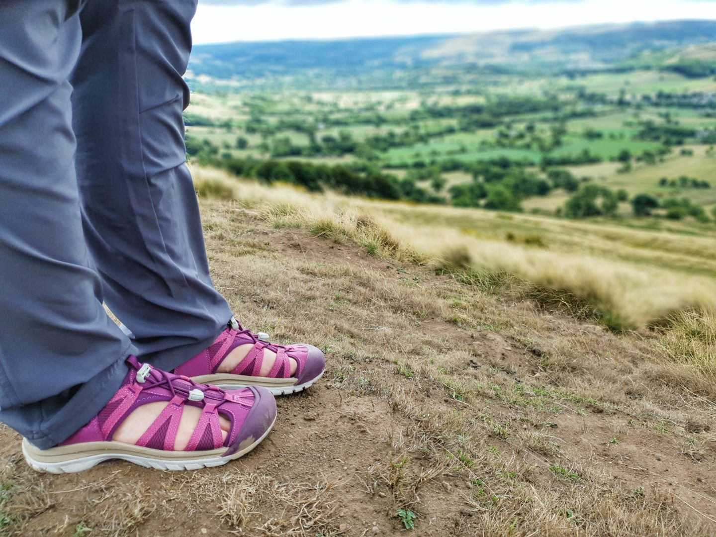 Hiking Mam Tor