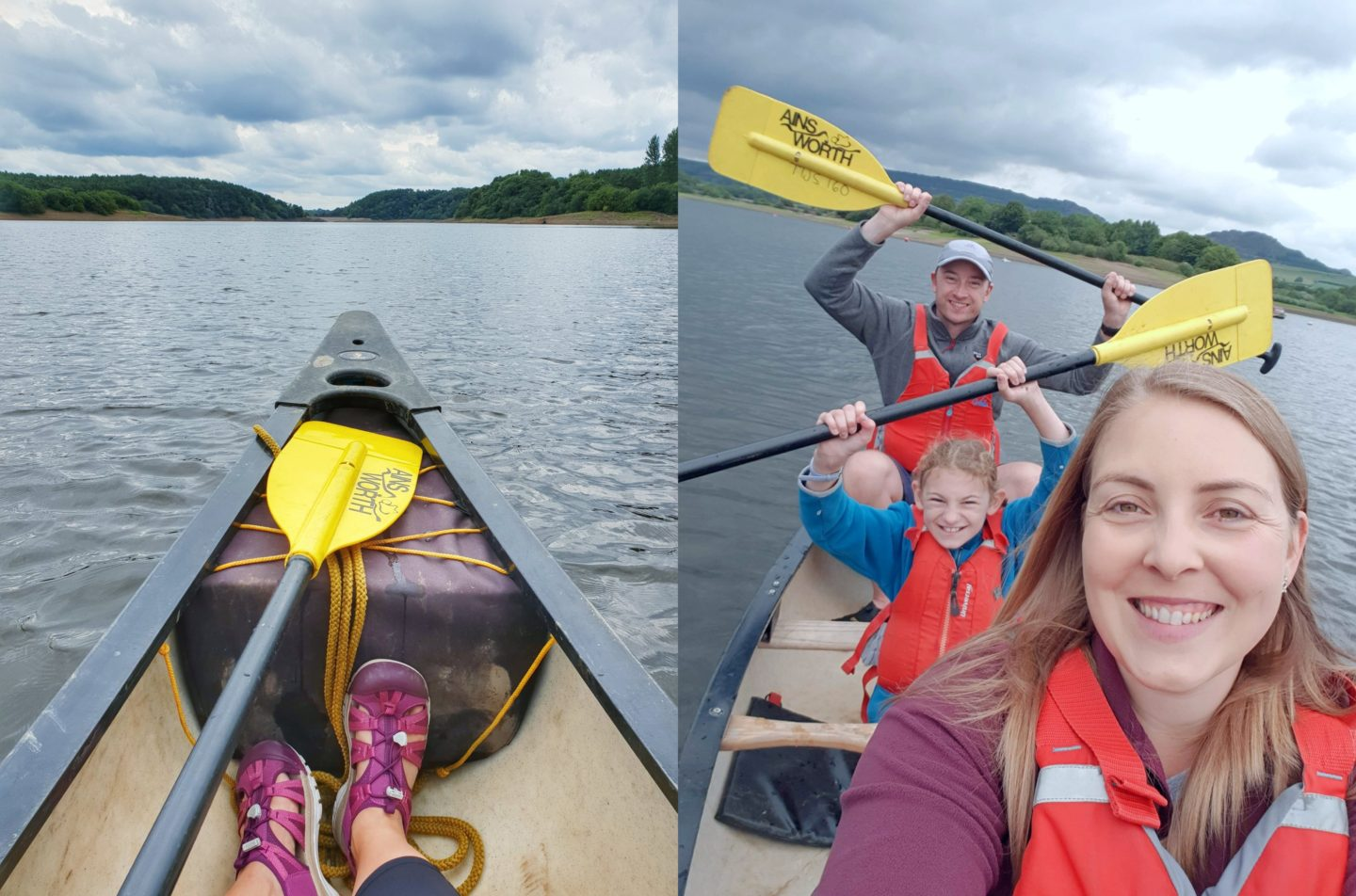 Canoeing in the Peak District
