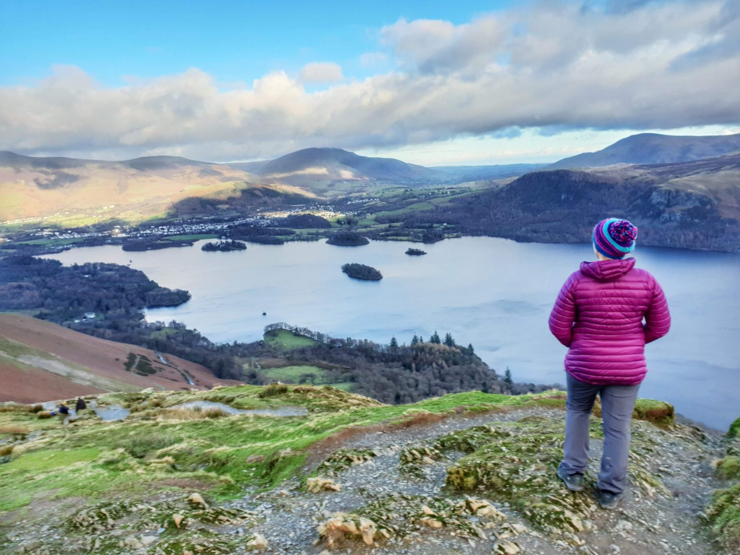View over Derwent Water from Catbells