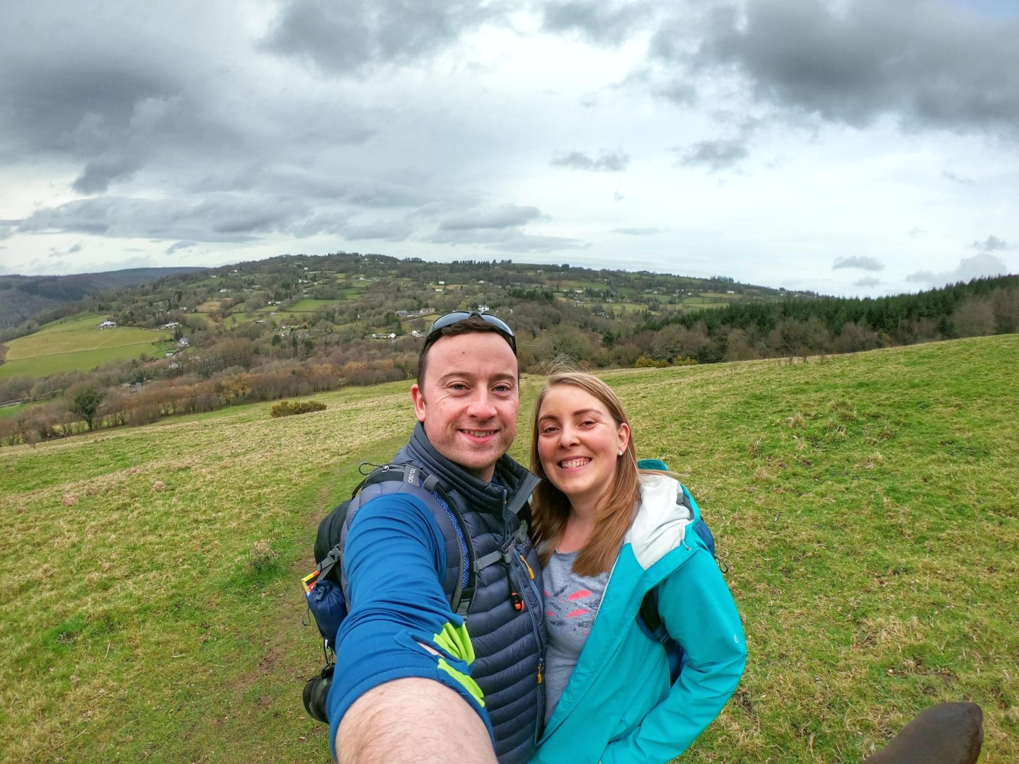 Glamping in Wales and Walking the Offa's Dyke National Trail