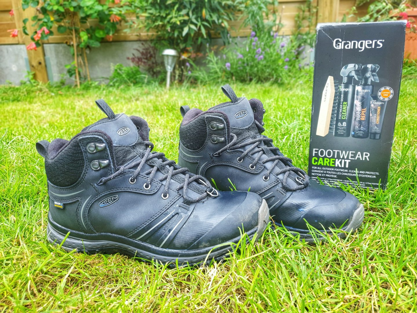 Grangers Footwear Care Kit and clean boots