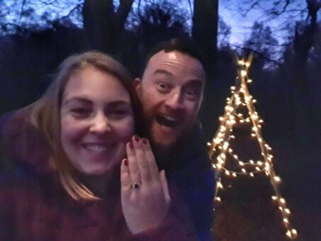 Love is in the air - we got engaged